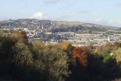 City of Bath. Avon. England Royalty Free Stock Photo