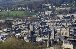City of Bath. Avon. England Royalty Free Stock Photos