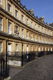 City of Bath - The Circus - England Royalty Free Stock Photo