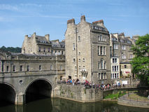 The city Bath Royalty Free Stock Images