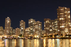 City bathed in Gold Stock Photos