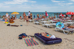 The city beach of Arcadia Stock Photo
