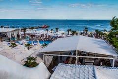 The city beach of Arcadia Royalty Free Stock Photo