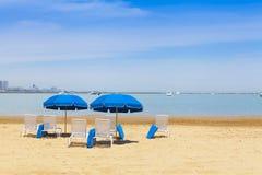 City Beach Stock Photography