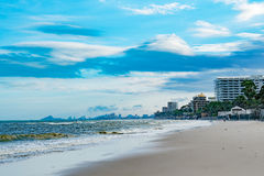 City beach Royalty Free Stock Photo