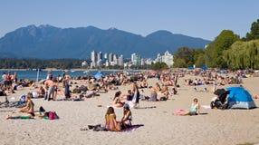City beach Vancouver Royalty Free Stock Photo