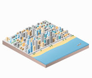 City beach Stock Image