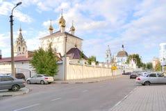 City Belgorod. Marfo-Mariinsky Convent Stock Images