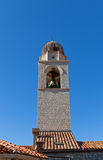 City Bell Tower (1444) in Dubrovnik, Croatia. UNESCO site Royalty Free Stock Photo