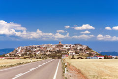 City Berdun, Province of Aragon Stock Photography