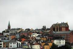 City of Bergen Royalty Free Stock Photos