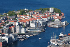 The City of Bergen, Norway Stock Photos
