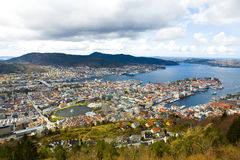 City of Bergen, Norway Stock Photo