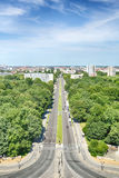 The City of Berlin seen from the Victory Column monument Stock Images