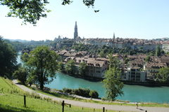 City of Bern | Capital of Switzerland. The adorable city of Bern which is the Capital town of Switzerland Stock Image