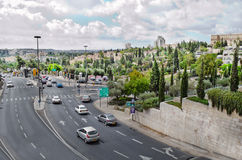 City of Bethlehem. Palestine. Residential area Royalty Free Stock Image