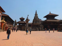 The city of Bhaktapur, Nepal Stock Photos