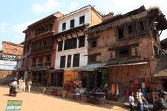 The City Bhaktapur Nepal Stock Photography