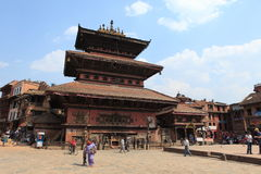 The City Bhaktapur Nepal Royalty Free Stock Image