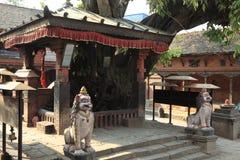 The City Bhaktapur Nepal Stock Image