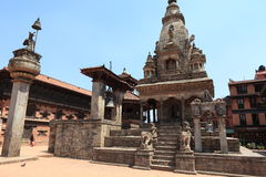 The City Bhaktapur Nepal Royalty Free Stock Photo
