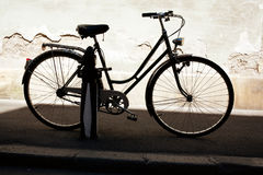 City bicycle Stock Images