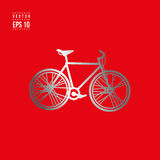 City bicycle vector icon Stock Images