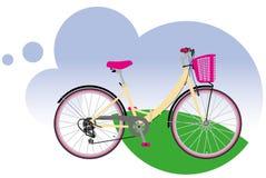 City bike. European city bike, or simply city bike Stock Photography