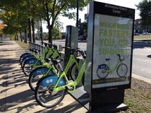 City bike Stock Image