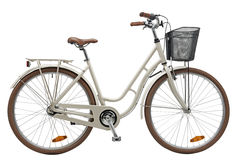 City Bike Creme Royalty Free Stock Images
