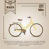 City bike Stock Image