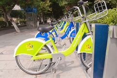 City bike, Zhuhai China Stock Photography