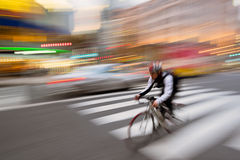 City Biker Royalty Free Stock Photography