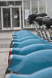 City Bikes  Royalty Free Stock Image