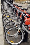 City bikes Royalty Free Stock Photography