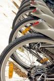City bikes Stock Photo