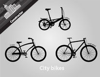 City bikes. Stock Images