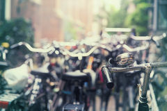 City of bikes Royalty Free Stock Photography