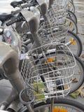 City bikes Royalty Free Stock Photography