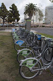 City bikes in San Diego California Stock Photography