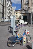 City bikes in Vienna Stock Image