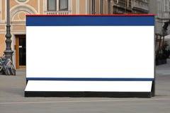 City billboard Stock Image