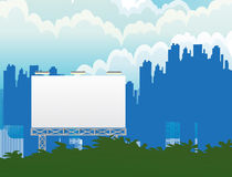 City Billboard Stock Photography