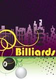 City billiard club Royalty Free Stock Photos