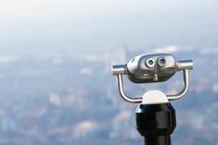 City binocular Royalty Free Stock Images