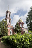 The City Of Birsk. The building of the bell tower and Holy Trini Royalty Free Stock Image