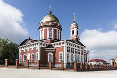 The City Of Birsk. The Cathedral Of Holy Trinity. Royalty Free Stock Photography