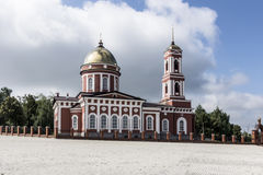 The City Of Birsk. The Holy Trinity Cathedral. Royalty Free Stock Photography