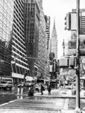 City Black and White royalty free stock images