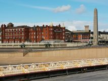 The city of Blackpool royalty free stock photo